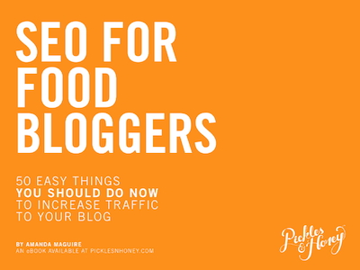Help for food bloggers with SEO.